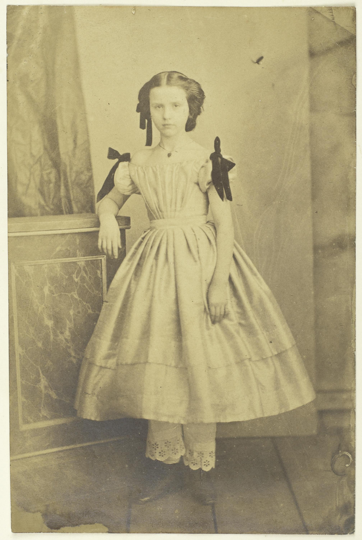 Afb.5. Portret van een meisje, ca. 1853, collectie Rijksmuseum Amsterdam.