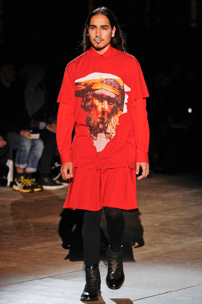 Givenchy Fall 2012 Menswear, ©Style.com