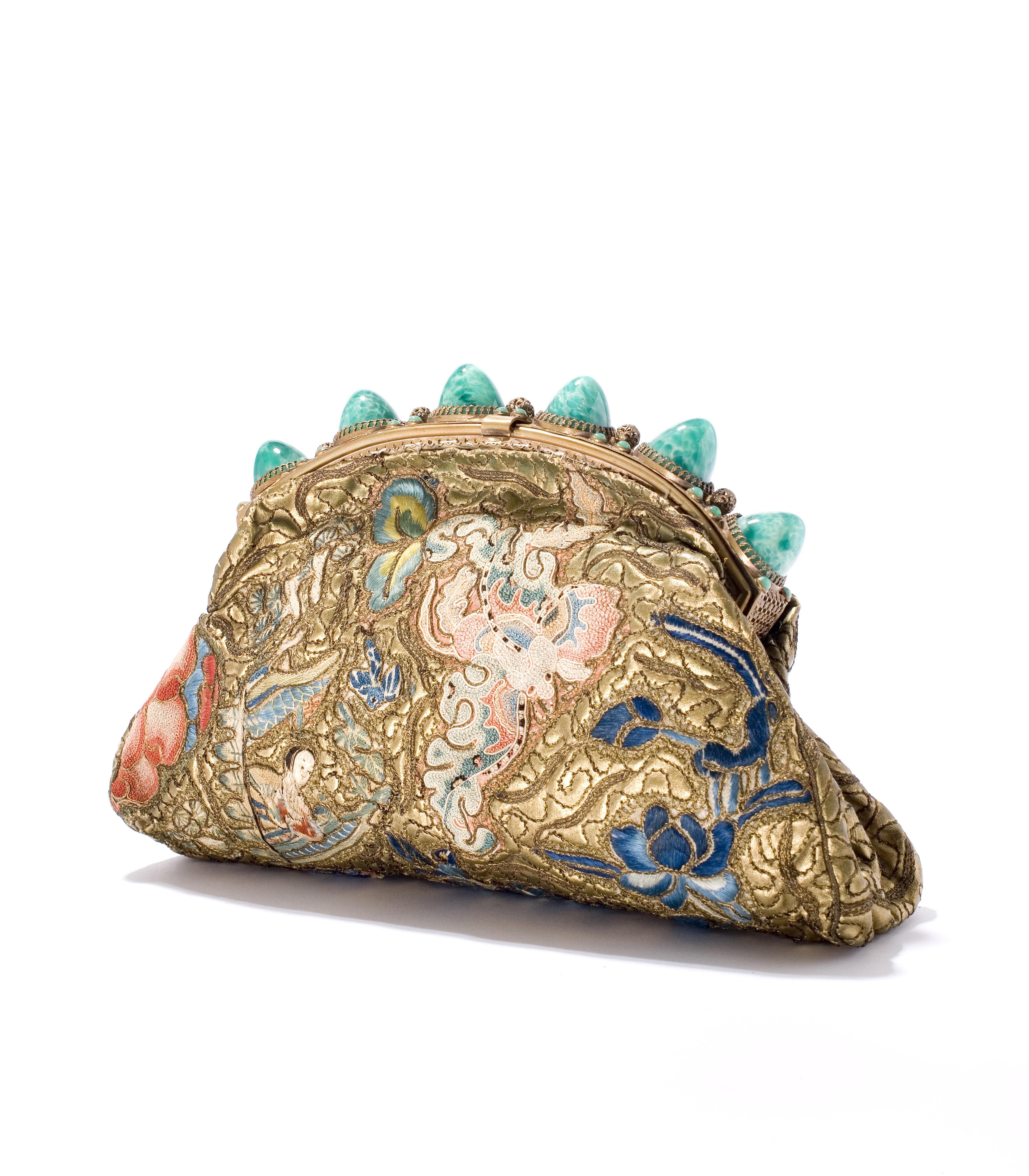tas, goudleer, jaren '50