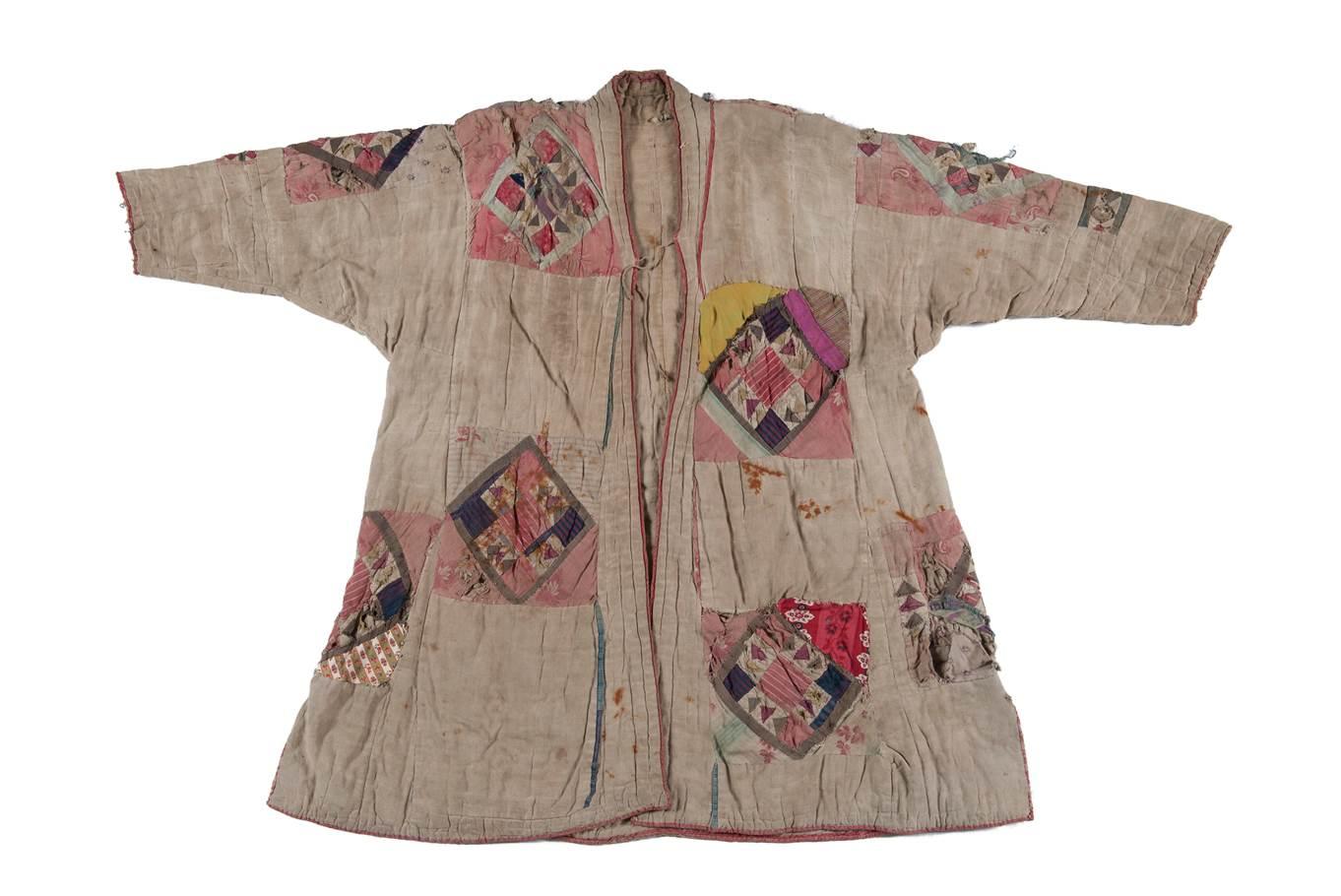 Soefi-mantel, muraqqa'a of khirq'a, Saoedi Arabië/Oezbekistan, vóór 1885, collectie Nationaal Museum van Wereldculturen.