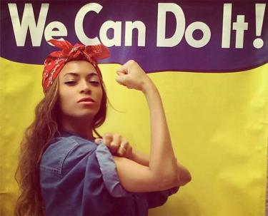 We Can Do It! Beyoncé. Spectrum Simulacrum Textiel februari 2017