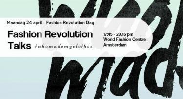 Fashion Revolution Talks Amsterdam, 2017.
