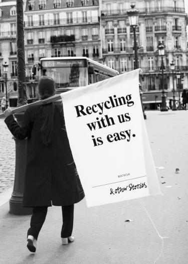 &Other Stories recycling campagne