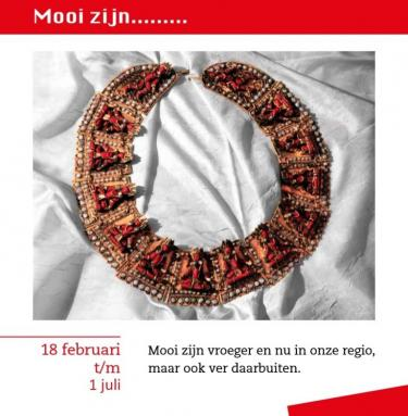 Tentoonstelling Mooi Zijn in Kijk- en luistermuseum Bennekom, 2017.