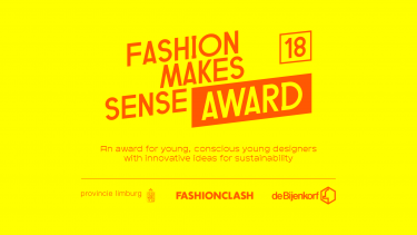 Banner Fashion Makes Sense Award
