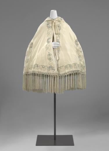 Mantel (burnous), ca. 1850-1865, collectie Rijksmuseum Amsterdam