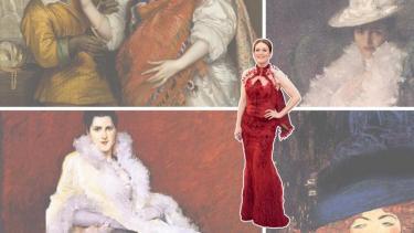 Julianne Moore, Blog Modemuze, Volkskrant, veren, vrouwenkleding