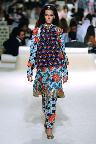 Chanel Cruise, Karl Lagerfeld, 2015, te zien op de tentoonstelling Modest Fashion
