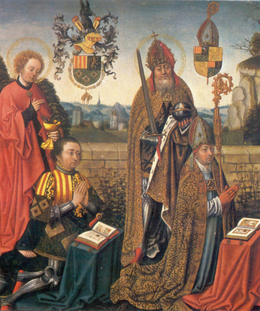 Jan III Glymes en Hendrik van Bergen