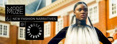 Modemuze & New Fashion Narratives @ Amsterdam Museum. Beeld: Les Adu / MAFB.