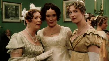 Filmstil uit  BBC serie Pride and Prejudice, 1995 bron: janeaustensworld.wordpress.com
