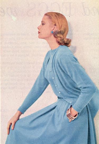 Modemuze – Trudie Rosa de Carvalho – Grace Kelly – Woman's Home Companion – April 1955 - reizen