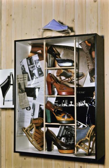 Afb. 4. Detailfoto De schoenen van Jan Jansen. 1974. Image&copyright Centraal Museum, Utrecht.