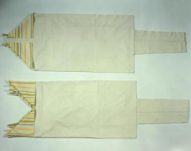 Afb. 6. Damesensemble bestaande uit jurk en broek, Han van den Berg, 1977, inv.nr. 20711.