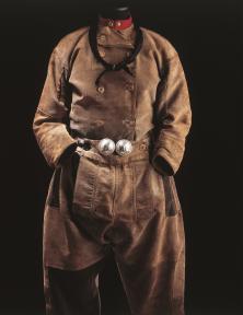 Mannenkostuum met baadje en klepbroek, Urk, circa 1930-1950, collectie Zuiderzeemuseum.
