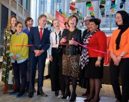 Opening Vrouwen van Rotterdam. Foto: Thijs ter Hart.