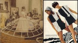 Crinoline en Mary Quant mini jurk