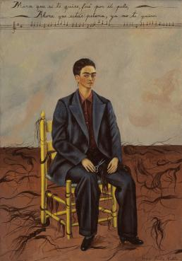 Frida Kahlo, Self-Portrait with Cropped Hair, 1940, collectie MoMA, New York