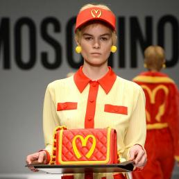Moschino McDonalds Trademark