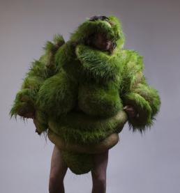 Bart Hess: Germination (day 8). Tentoonstelling Bart Hess in het Stedelijk Museum 's-Hertogenbosch, 2017.