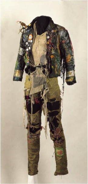 Punk outfit, 1982-83, Museum Rotterdam
