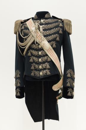 Gala rokjas van een opperjagermeester, collectie Paleis Het Loo. Foto: Niels Coppes.
