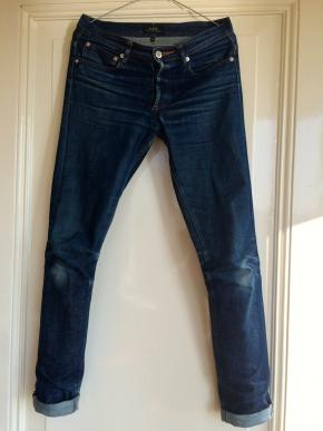 Dry denim broek, APC, model petit new standard.