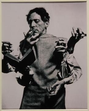 Blog, Modemuze, Jean Cocteau, door Philippe Halsman in 1949