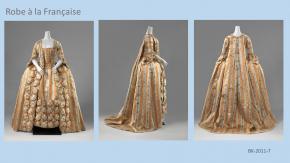 Robe à la Française, ca. 1775-1785, collectie Rijksmuseum