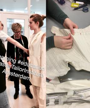 Agenda Modemuze Atelier Meesteropleiding Coupeur