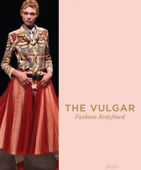 Agenda Modemuze tentoonstelling The Vulgar Modemuseum Hasselt 2017. Beeld Undercover LZ 2016, ©firstVIEW.com, model Maja Brodin