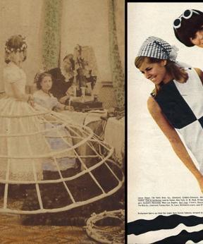 Crinoline en Mary Quant mini jurk
