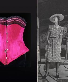 Korset, collectie V&A, foto Vogue april via BnF
