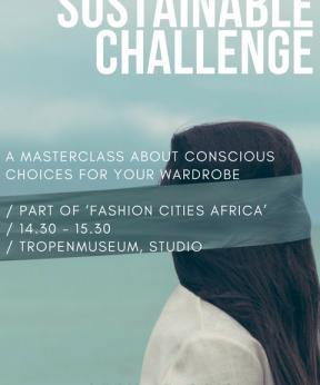 Promo Masterclass Sustainable Challenge, Amsterdam Fashion College en Modemuze.