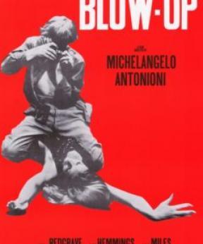 Mode X Film Blow Up (1966). Lezing door Merel van der Toorn in Filmtheater Kriterion.