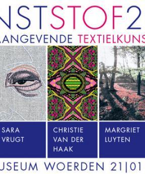Tentoonstelling KunstStof 2017 - 5 toonaangevende textielkunstenaars. Stadsmuseum Woerden 2017