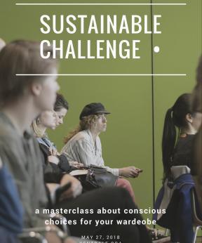 Campagnebeeld Masterclass 2 Sustainable Challenge