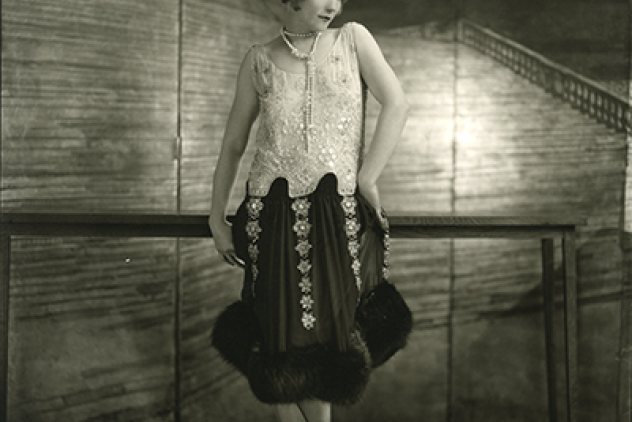 Gilda Gray, 1925. foto James Abbe. Met dank aan ©James Abbe Archive.