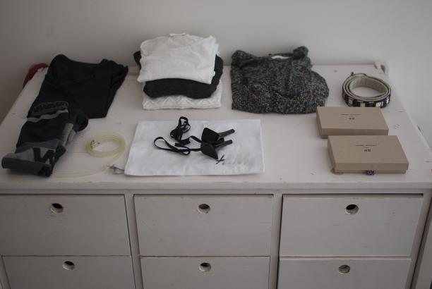 Verschillende aankopen uit de H&M x designer collecties, foto: ©Kenny Nagelkerke
