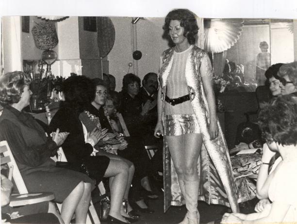 Tuniekpak met short, collectie: ´La Donna à la mode Près du Corps Allungata´, zomer 1968, Museum Rotterdam.