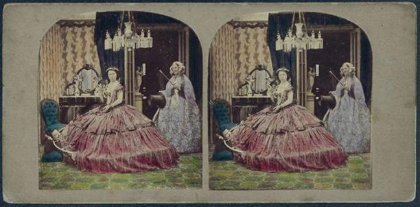 Blog Modemuze Madelief Hohé Stereofotografie Bijzondere Collecties Universiteitsbibliotheek Leiden Romantische Mode