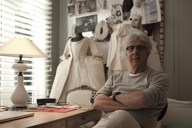Rien Bekkers in zijn ideeënkamer, foto Kenny Nagelkerke