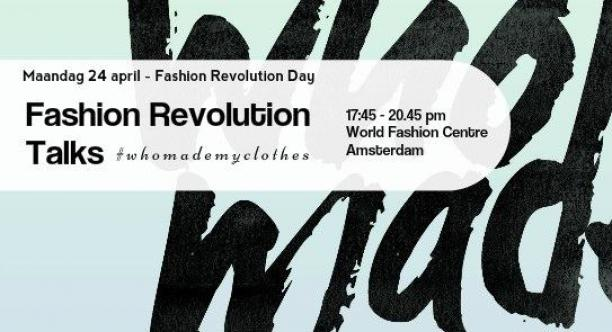 Fashion Revolution Talks Amsterdam, 2017.