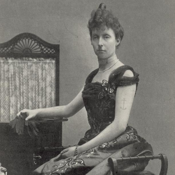 Prinses Marie Bourbon d'Orléans (1865-1909), 'de enigste getatoeëerde koninklijke dame', 1907, © Illustrated London News Ltd / Mary Evans.