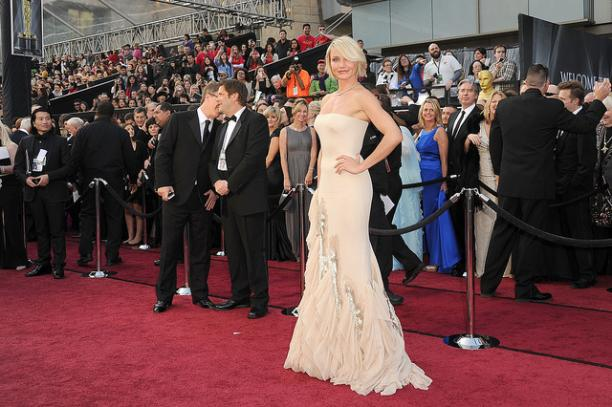 Cameron Diaz in Gucci, 84ste Academy Awards of Oscars, 2012. Foto: Jason Merrit/Getty Images.