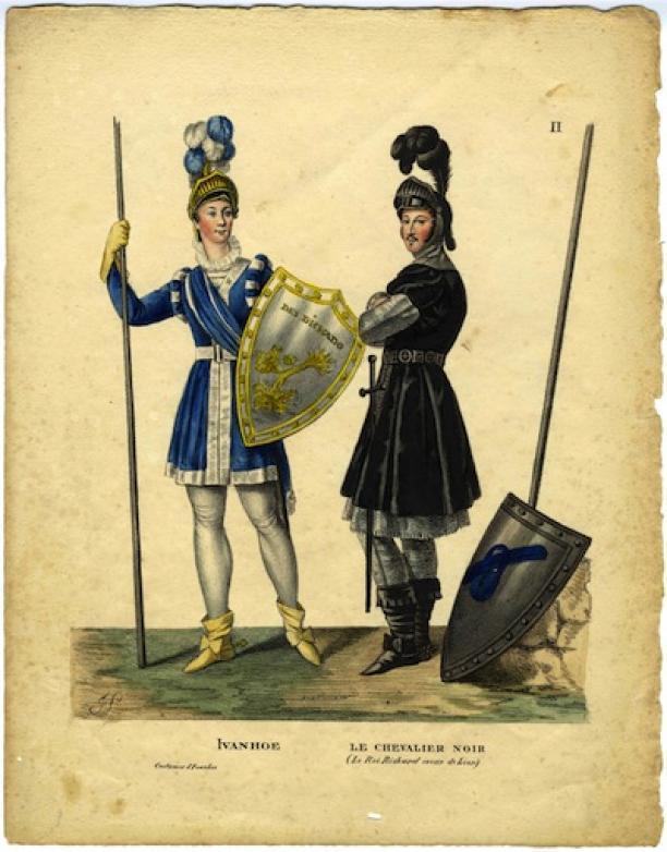 Félicité Lagarenne, Ivanhoe en le chevalier noir, 1823, collectie Paleis Het Loo.