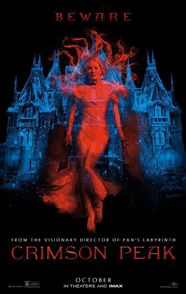 Poster voor Crimson Peak (Guillermo del Toro). Bron: IMDB.