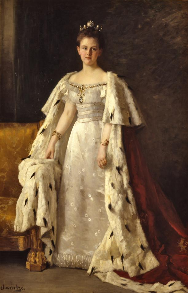 Thérèse Schwartze, 1897-1898. Collectie Paleis Het Loo, Apeldoorn, langdurig bruikleen Koninklijke Verzamelingen, Den Haag