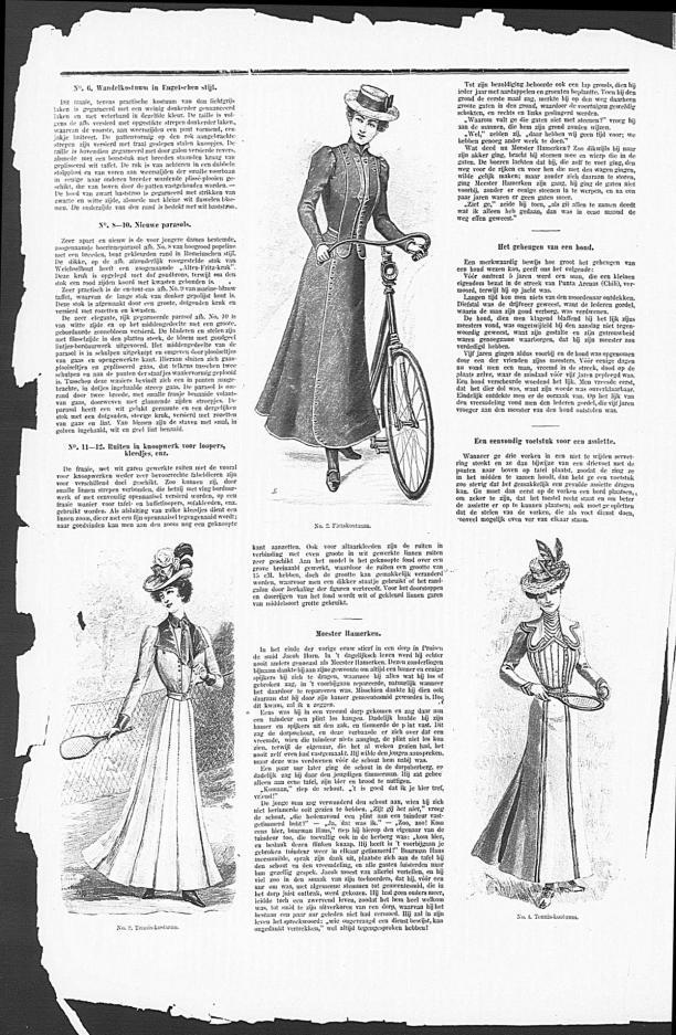 Gracieuse. Geïllustreerde Aglaja, 5 mei 1900, Gemeentemuseum Den Haag