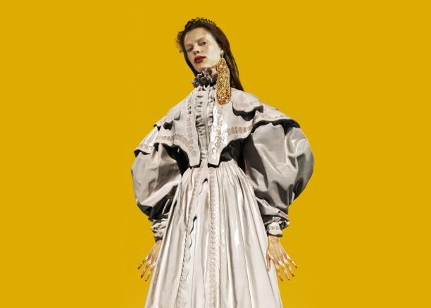 Campagnebeeld tentoonstelling Uit de Mode